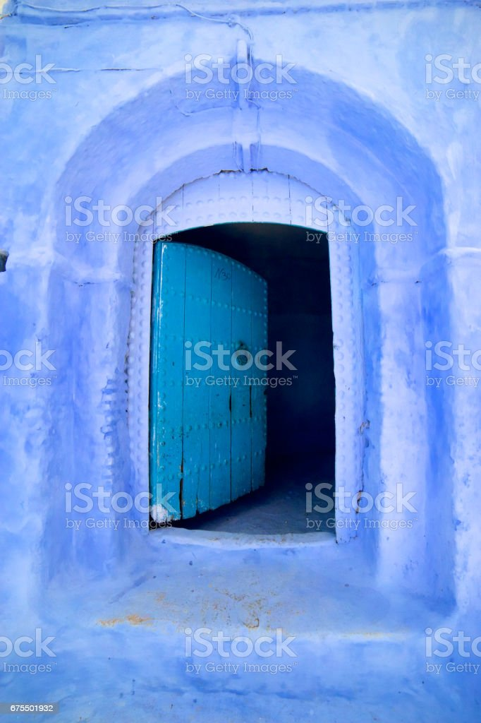 chefchaouen royalty-free stock photo