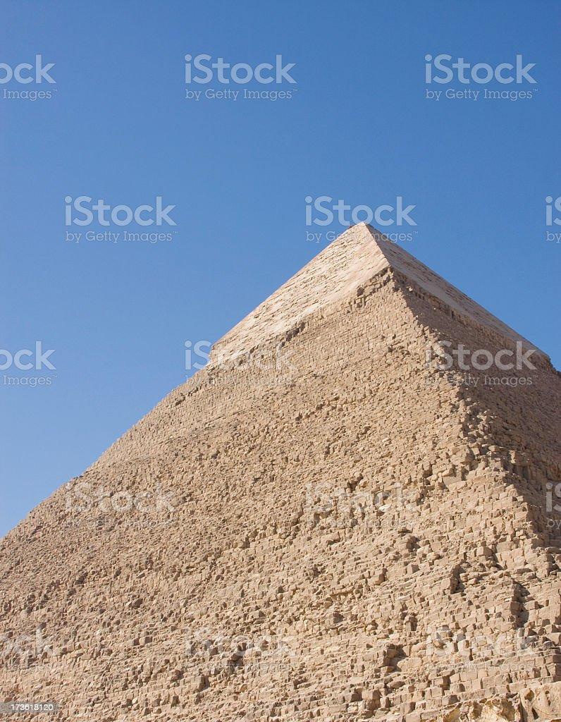Chefren Pyramid royalty-free stock photo