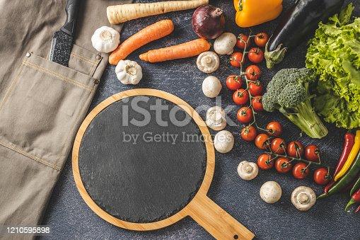 istock Chef's equipment 1210595898