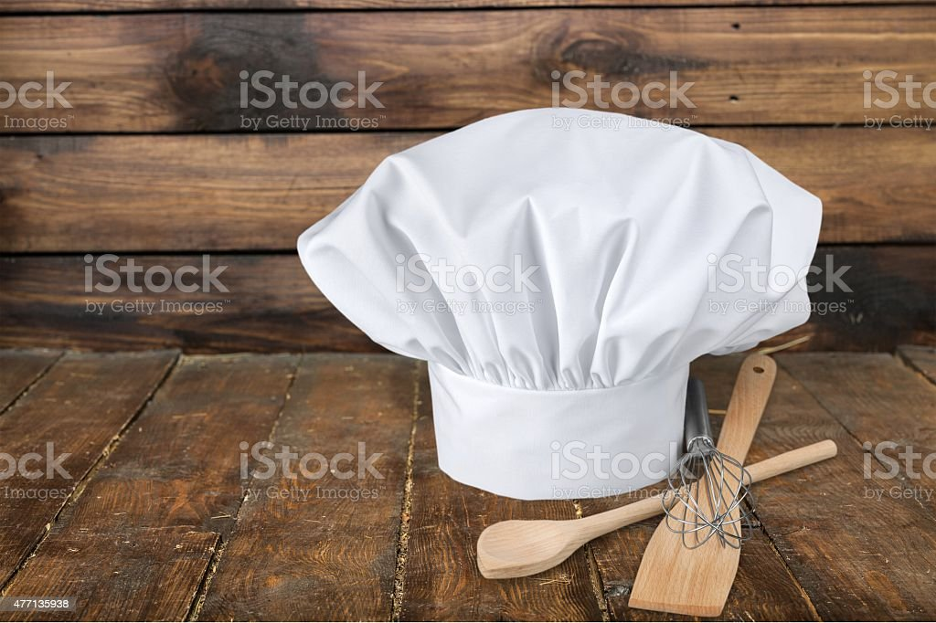 Chef's Hat, Hat, Kitchen Utensil stock photo