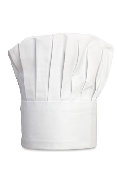 Chef's Hat Chef's Hat Isolated with clipping Path chef's hat stock pictures, royalty-free photos & images
