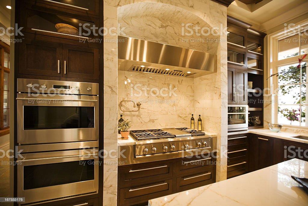 Chef's Kitchen stock photo