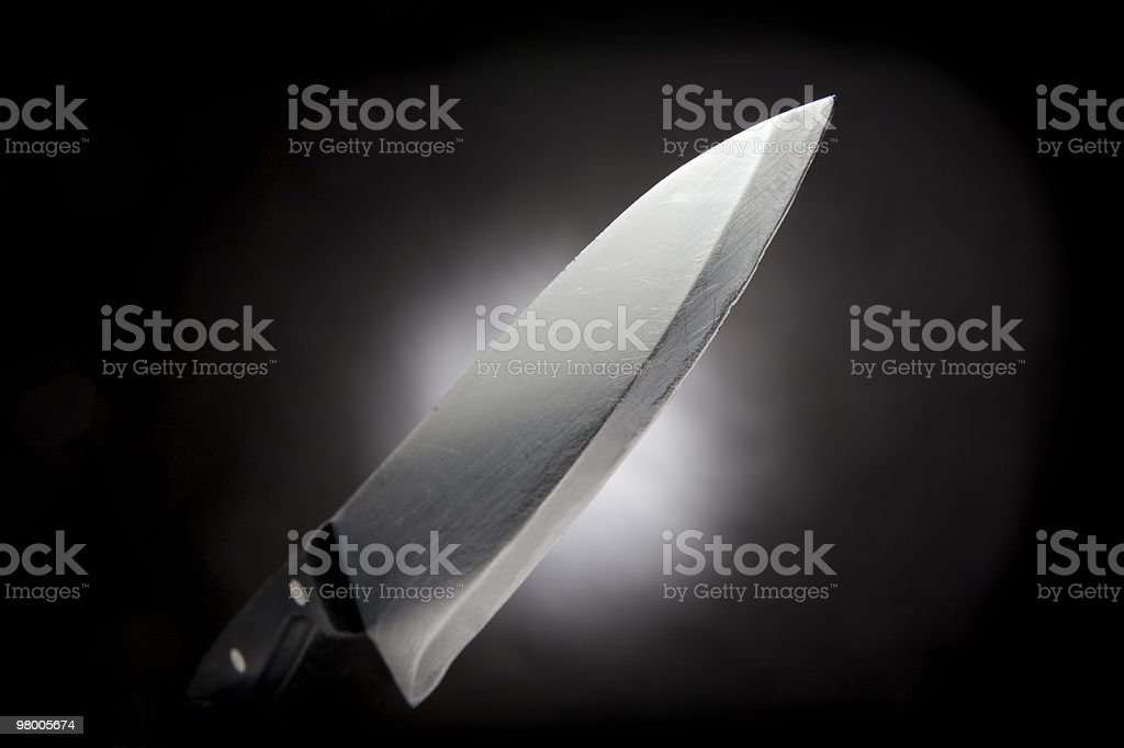 Chefs Knife royalty-free stock photo