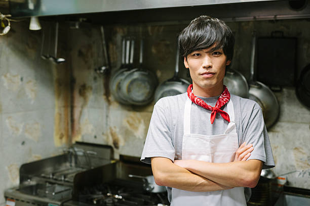 Chef's Portrait stock photo