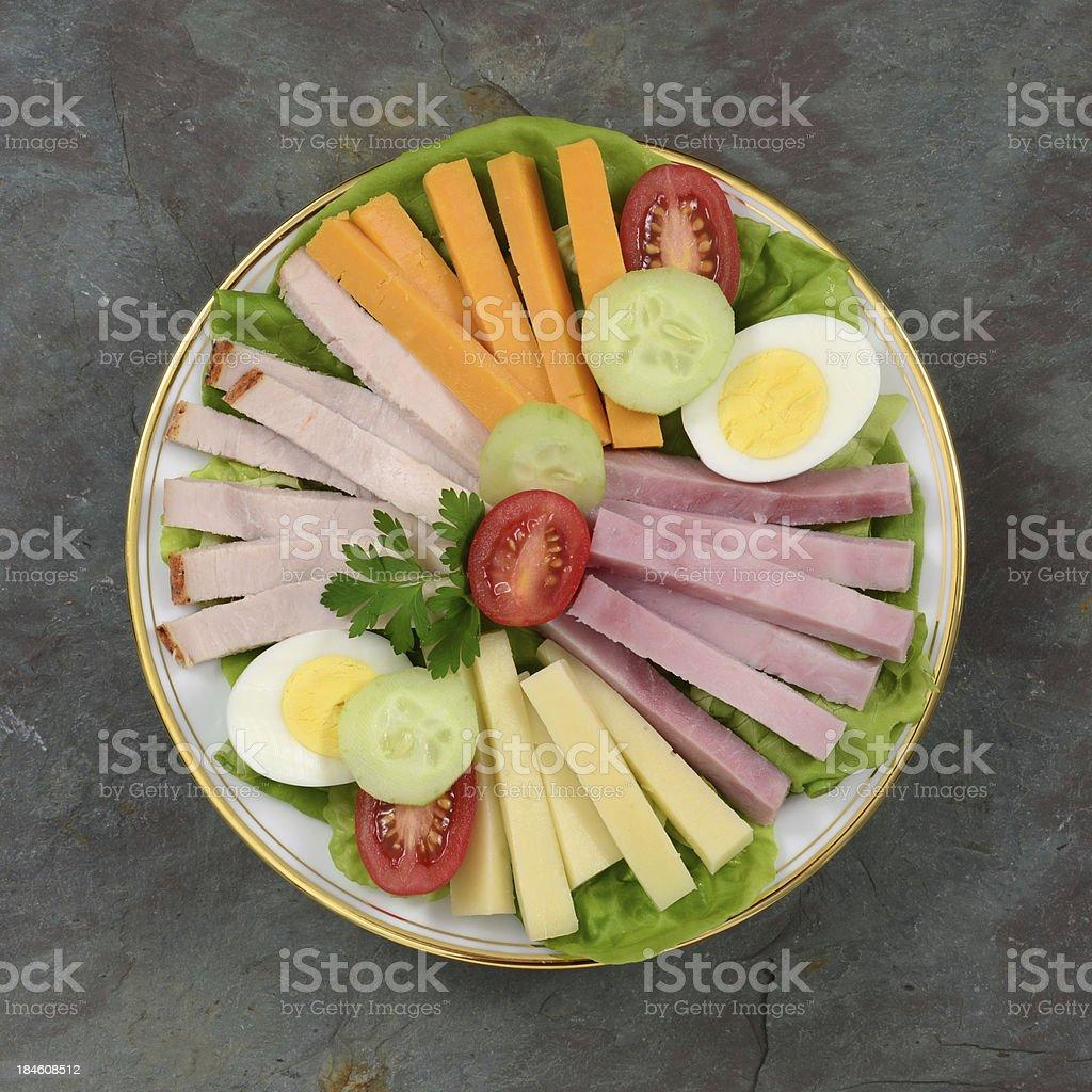 Chef's Salad stock photo