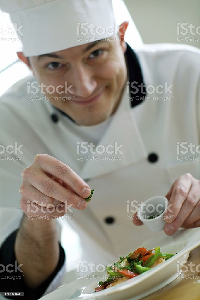 Chef's Touch royalty-free stock photo
