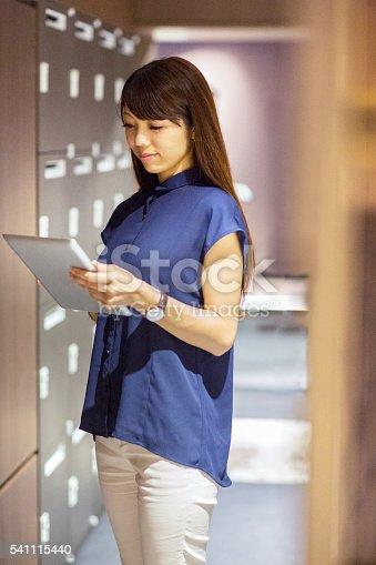 istock Cheking and filing documents 541115440