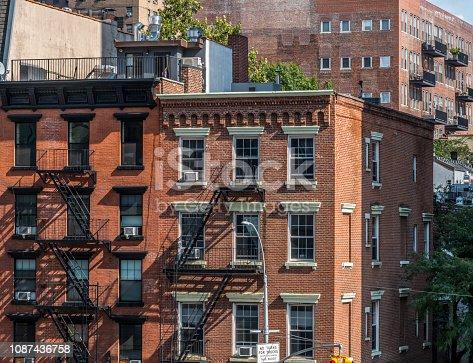 690233014 istock photo Chelsea neighbourhood street,New York, Manhattan, NYC 1087436758