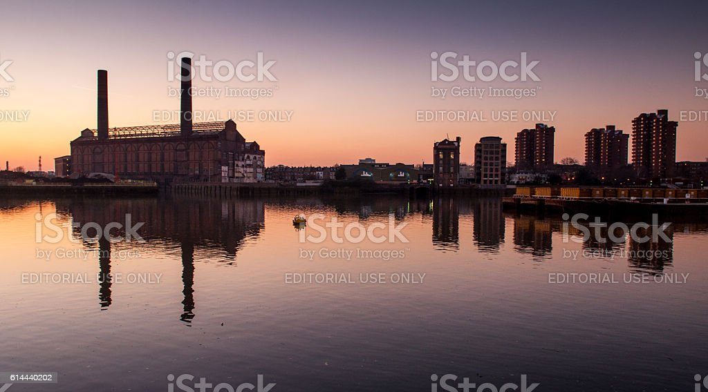 Chelsea Riverside stock photo