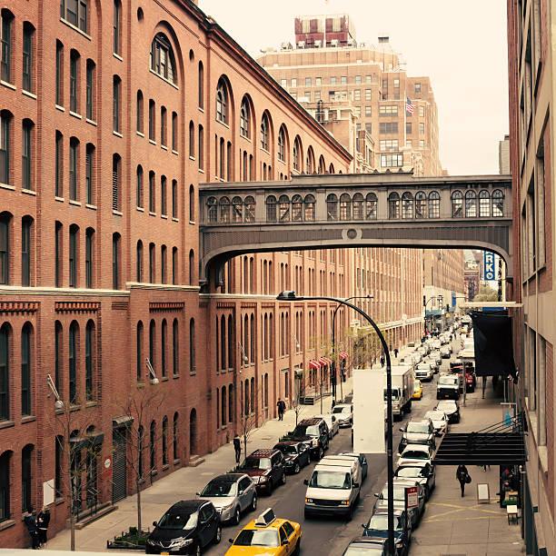Chelsea Street stock photo