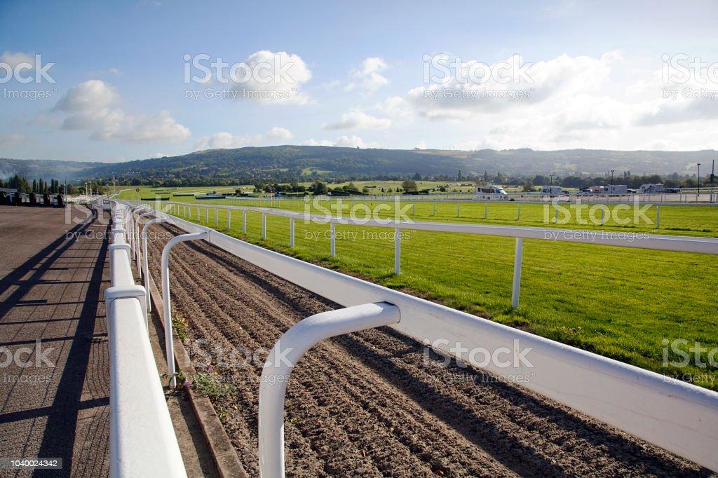 Cheltenham Racecourse stock photo