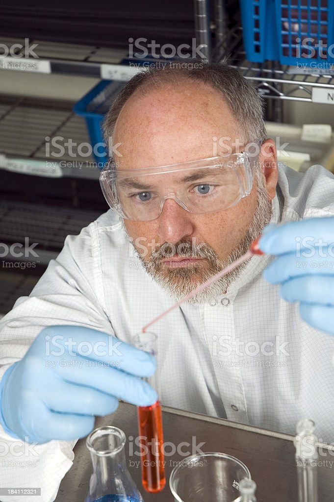 Chem Tech royalty-free stock photo