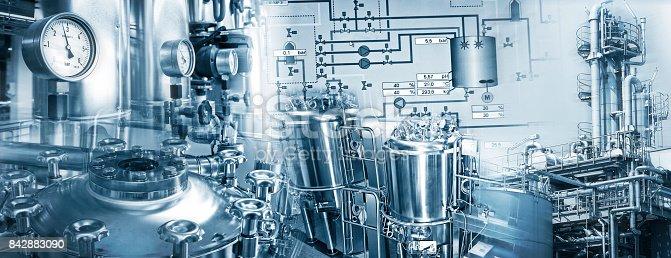 istock Chemieindustrie und Pharmazeutische Industrie 842883090