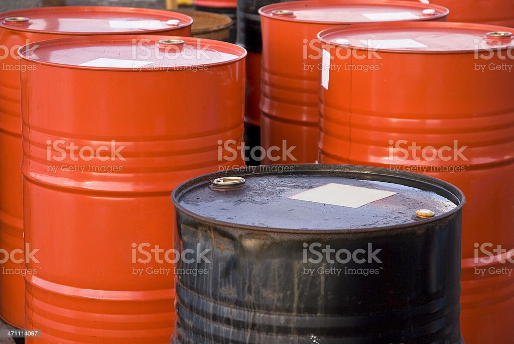 Chemical Barrel royalty-free stock photo