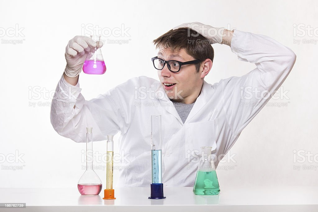 Chemical Discovery royalty-free stock photo