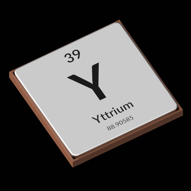 Royalty Free Symbol For The Chemical Element Yttrium Pictures