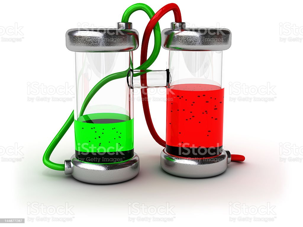 Chemical experience royalty-free stock photo
