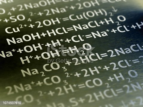 1168035793 istock photo Chemical formula on the page. 1074537610