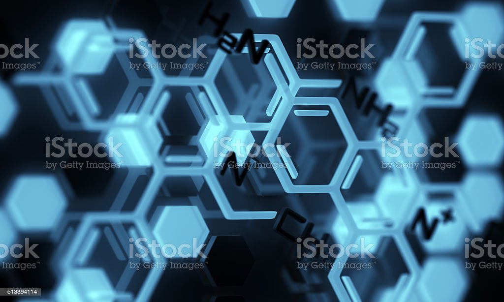 Chemical Formula stock photo