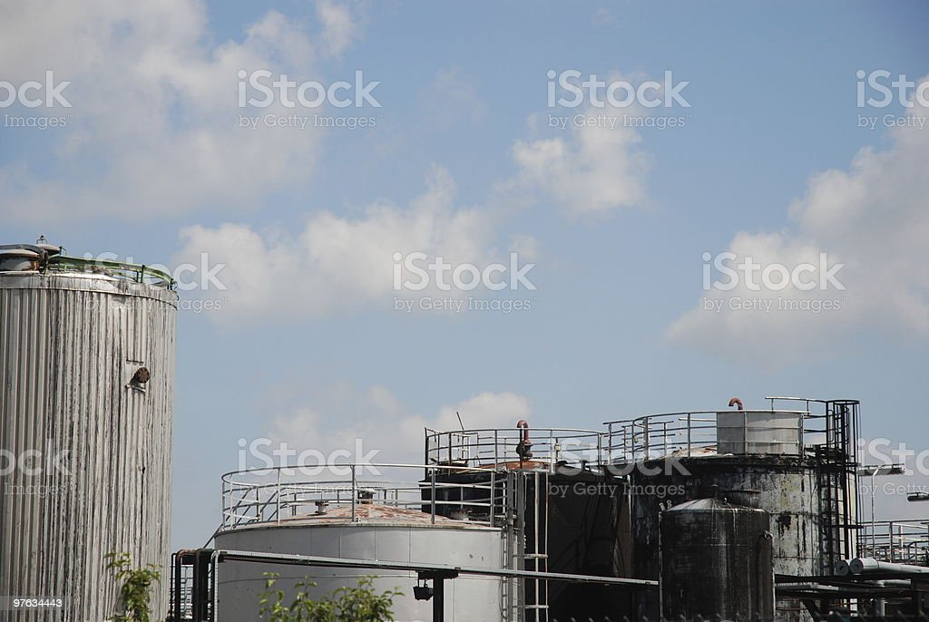 Chemical Industry in Bavaria stock photo