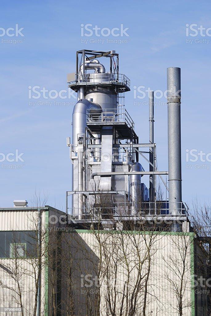 Chemical industry royalty free stockfoto