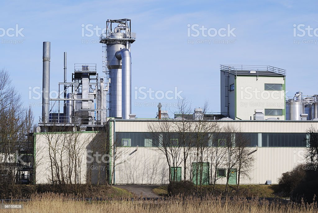 Chemical industry royalty-free stock photo