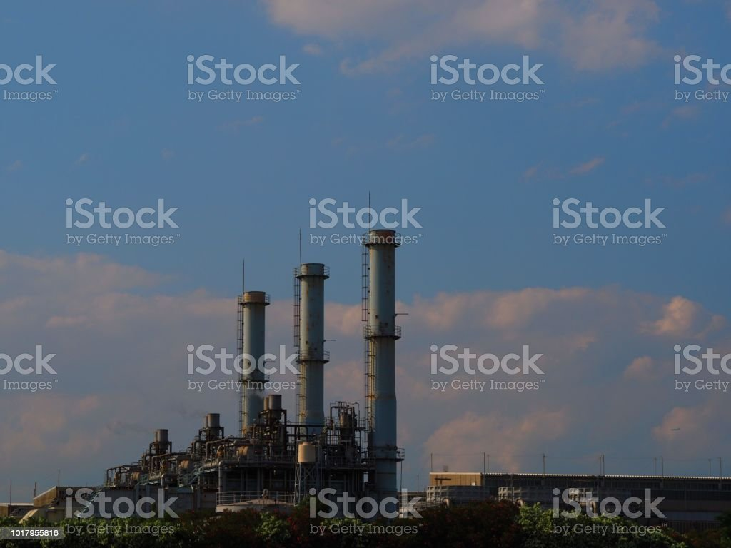 Chemical Industry Plant Stock Photo Download Image Now