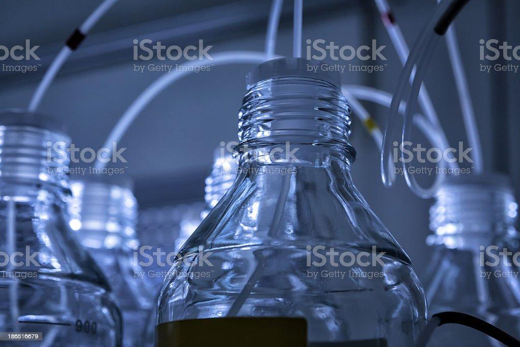 chemical laboratory background royalty-free stock photo