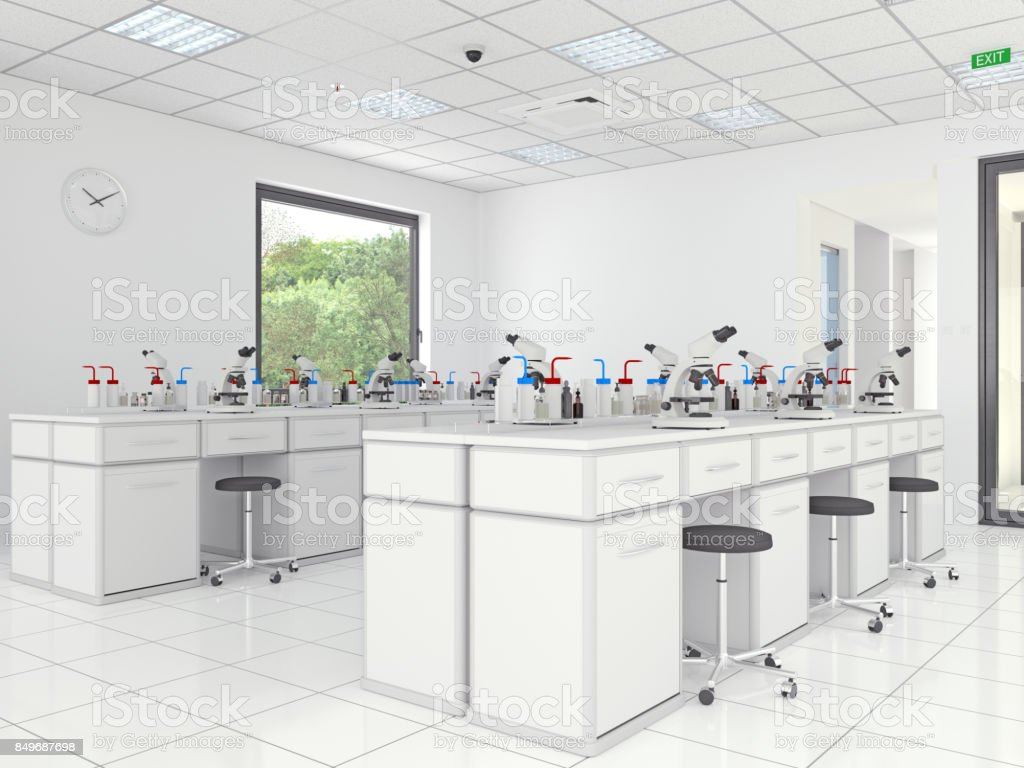 Chemischen Labor – Foto