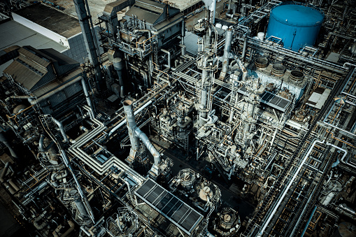 Chemical Plant in Tai Po, Hong Kong