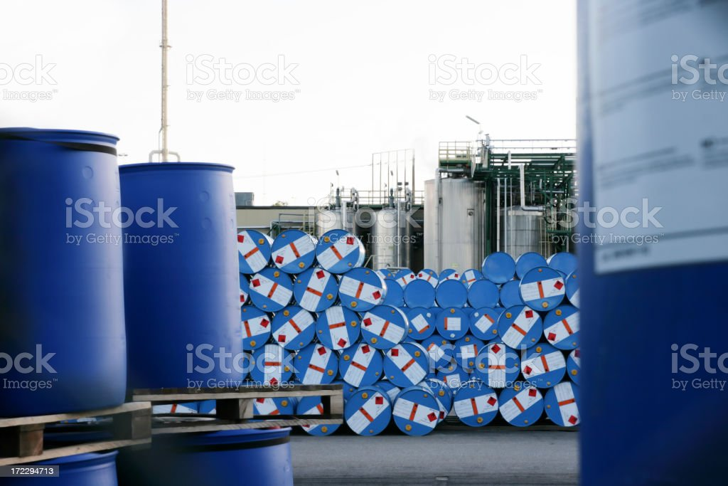 Chemical Plant - Royalty-free Abstract Stock Photo
