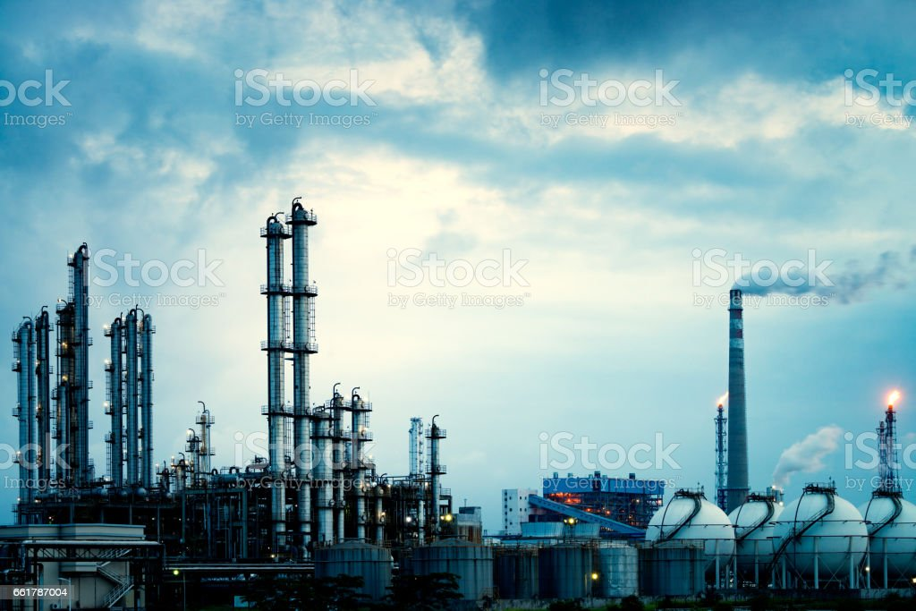 Chemical plant – Foto