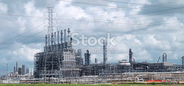 Electrical plant facility showing industrial equipment and transformers.