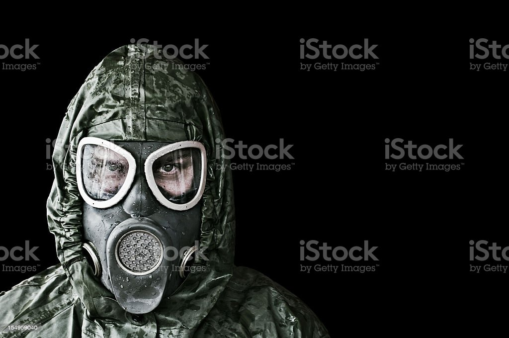 Chemical, Radiation and Biological Protection stock photo