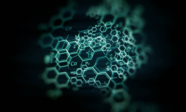 Chemical Science Background Illustration Stock Photo