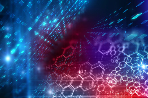 science and technology background stock photos