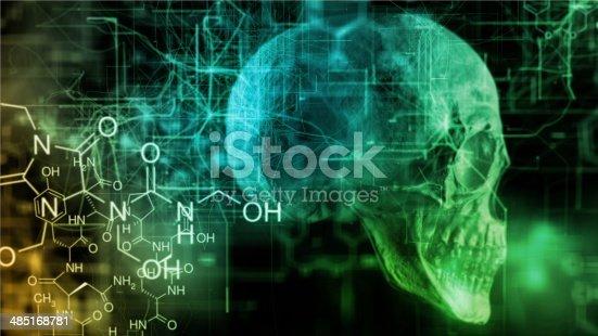 istock Chemical skull 485168781