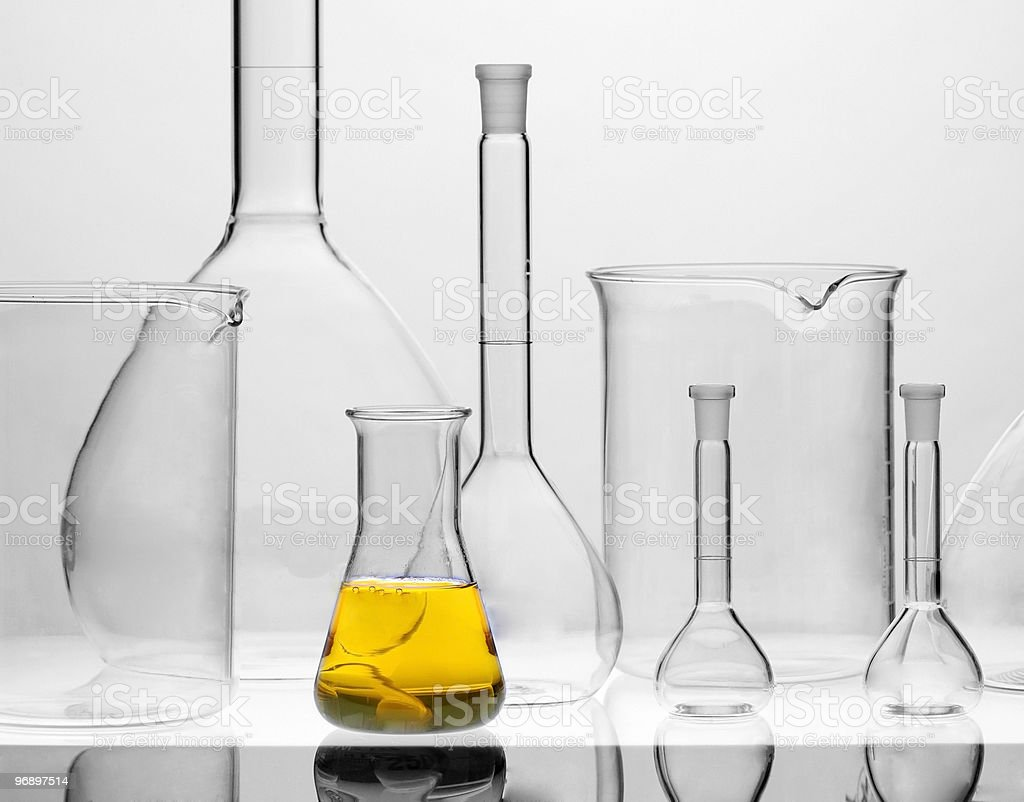 Chemical solution royalty-free stock photo