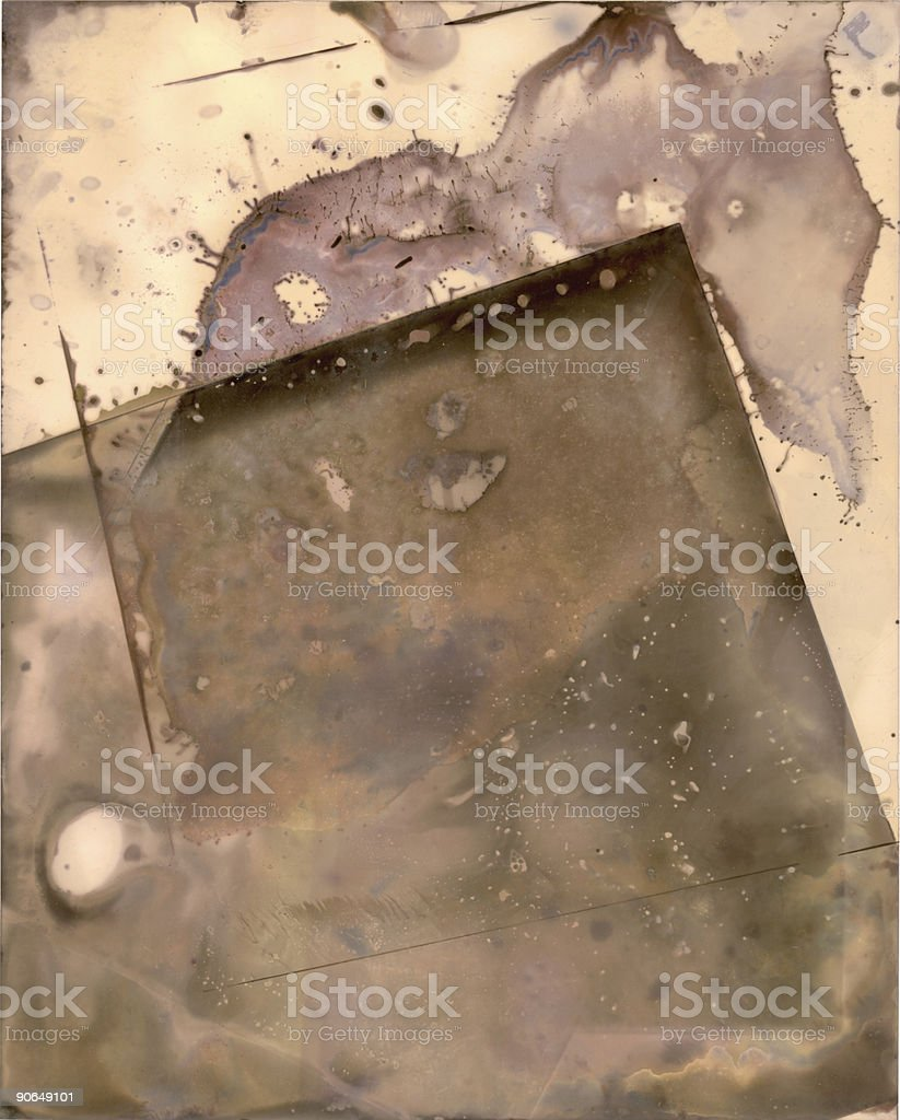 Chemical stain background royalty-free stock photo