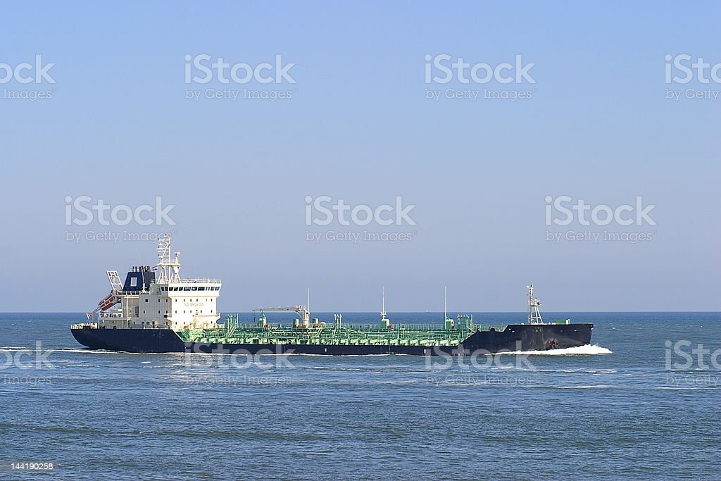 Chemical tanker royalty-free stock photo