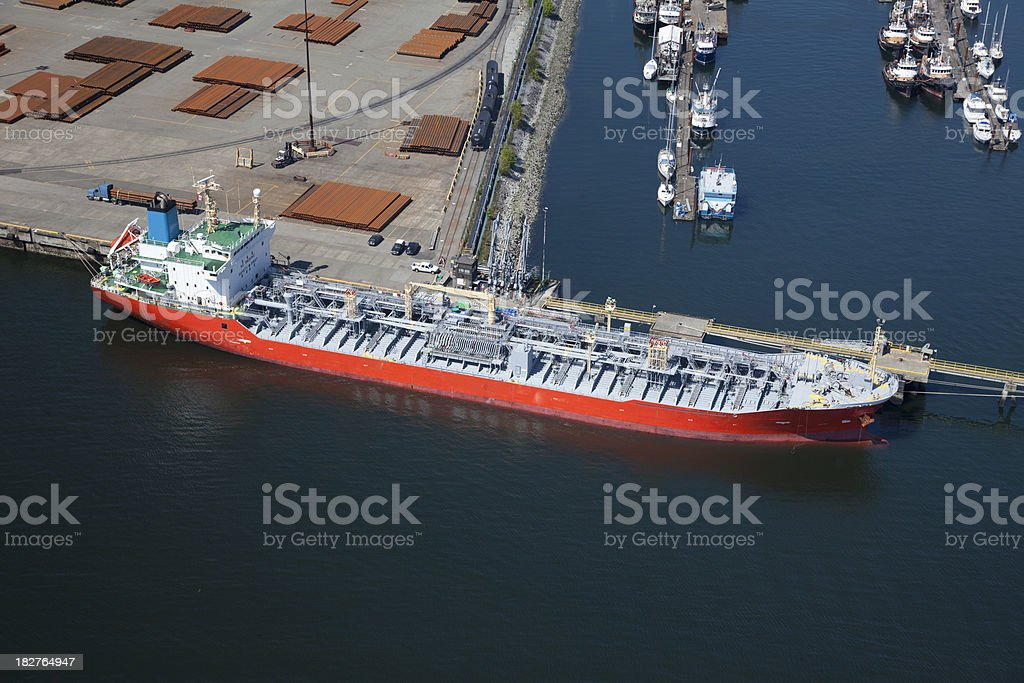 Chemical Tanker Ship royalty-free stock photo