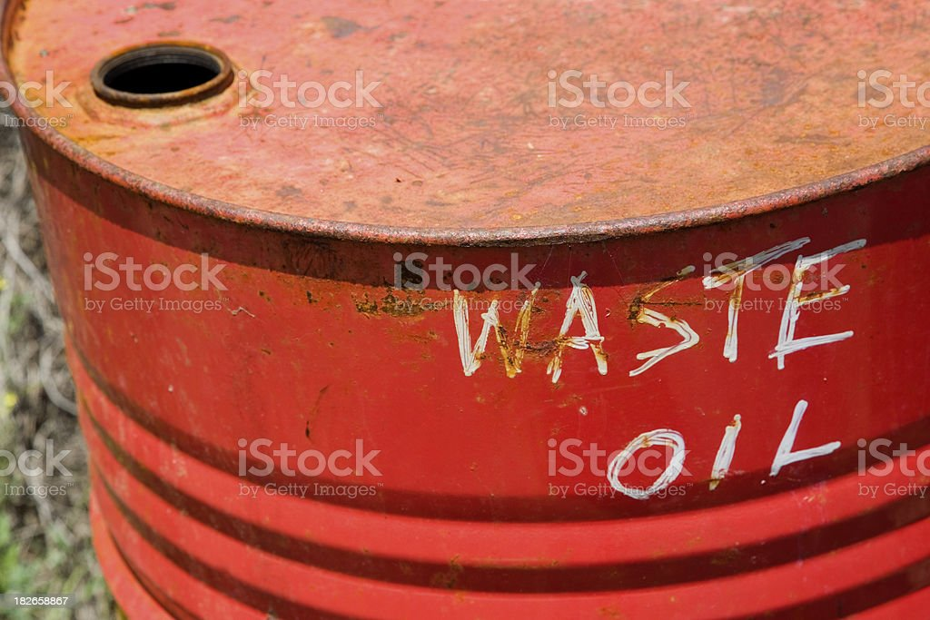 Chemical Waste royalty-free stock photo