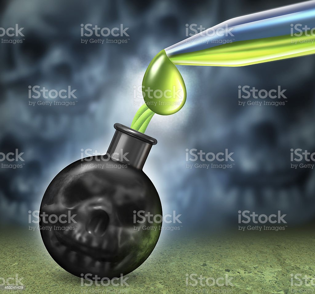 Chemical Weapons stock photo