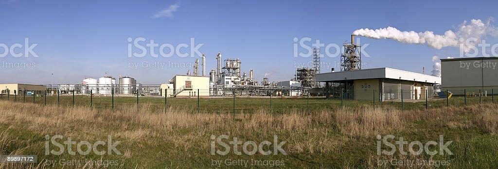 Chemische Industrie 1 royalty-free stock photo