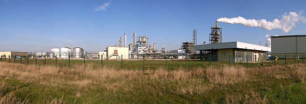 Chemische Industrie 1 stock photo