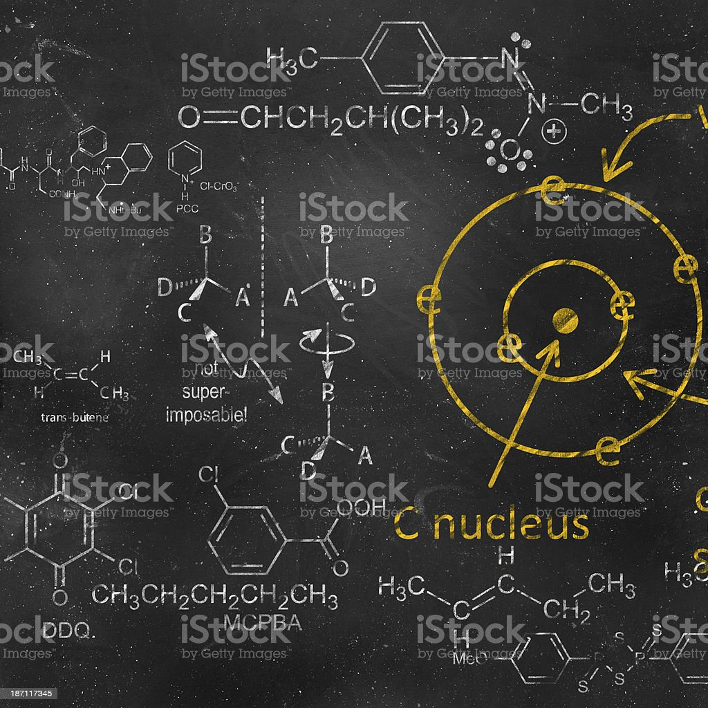 Chemistry Concept royalty-free stock photo
