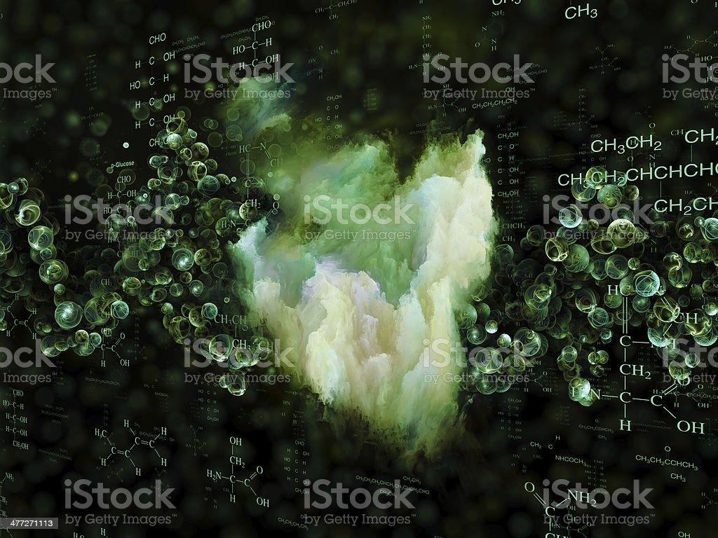 Chemistry Energy royalty-free stock photo