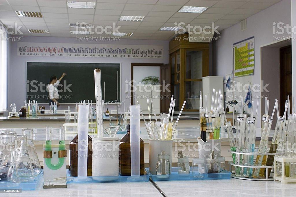 Chemistry Laboratory 2 royalty-free stock photo