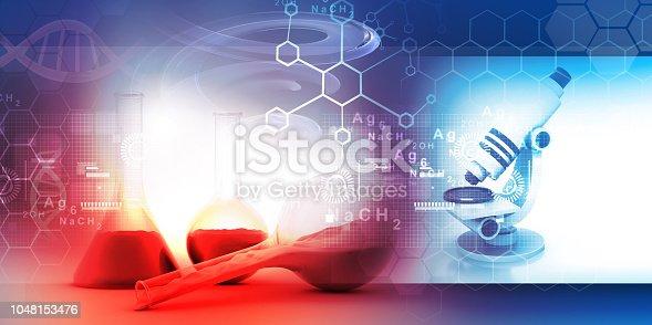 istock Chemistry laboratory concept 1048153476