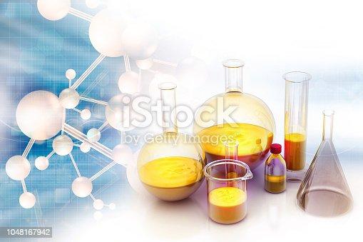 istock Chemistry laboratory concept 1048167942